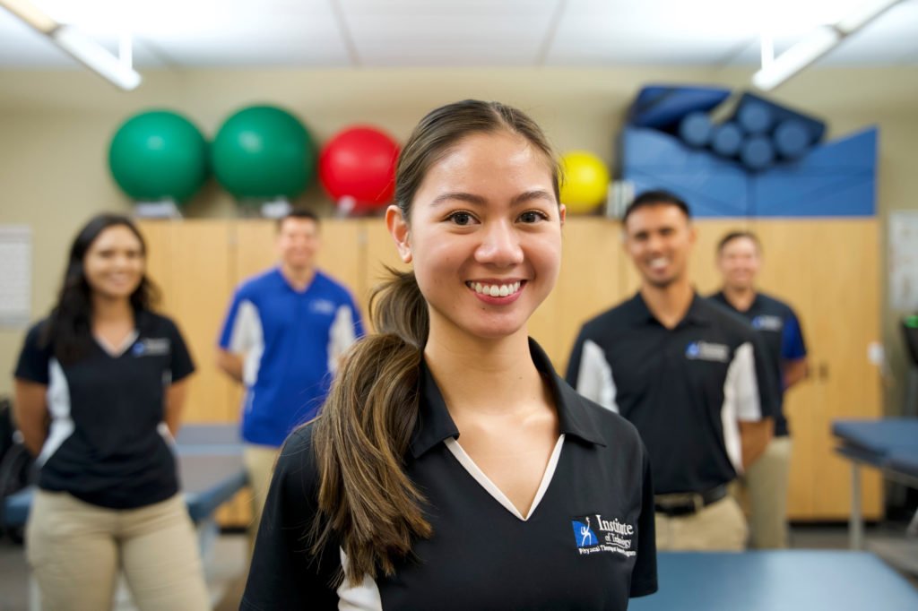 Physical therapy students